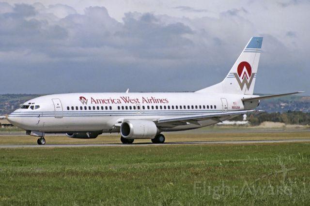 BOEING 737-300 (N166AW) - Adelaide, South Australia, October 1, 1989.