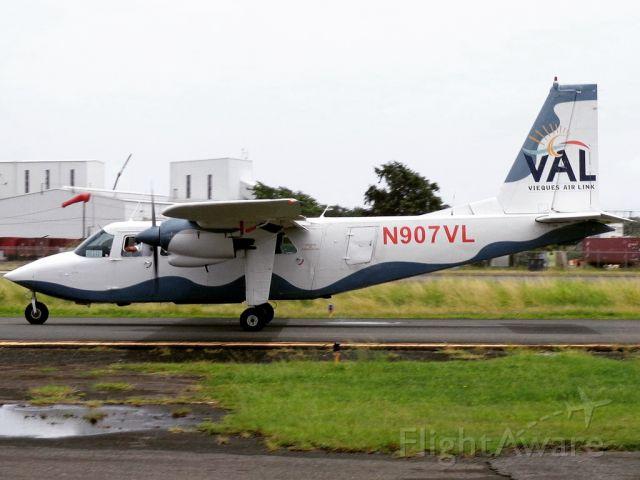 ROMAERO Islander (N907VL)