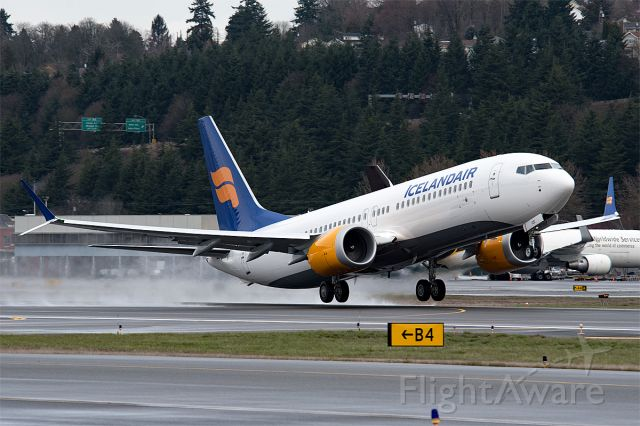 Boeing 737 MAX 8 (TF-ICE)