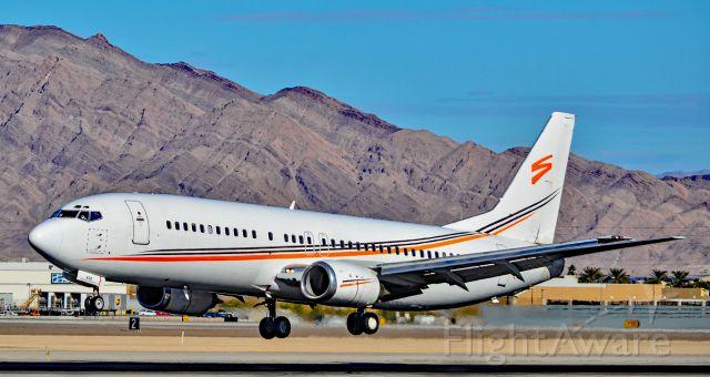 BOEING 737-400 (N458UW) - N458UW Swift Air 1991 Boeing 737-4B7 - cn 25022 / 2010 - Las Vegas - McCarran International Airport (LAS / KLAS)<br />USA - Nevada December 2, 2016<br />Photo: Tomás Del Coro
