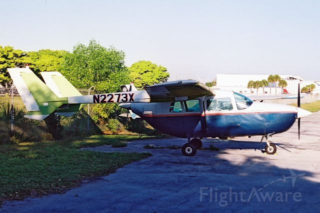 Cessna Super Skymaster (N2273X) - Seen here in Oct-02.