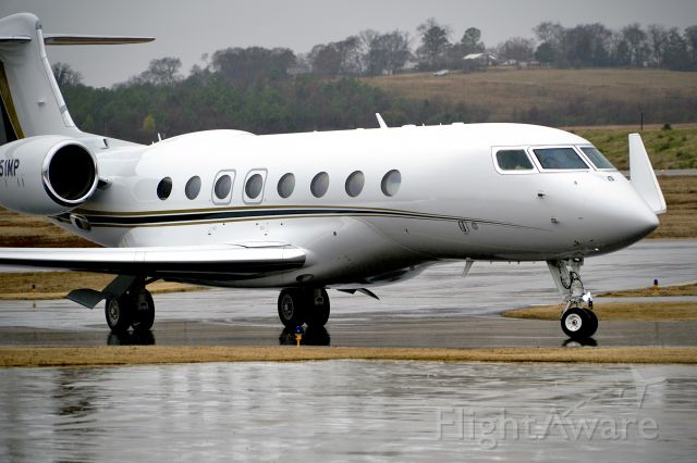 Gulfstream Aerospace Gulfstream G650 (N652MP)