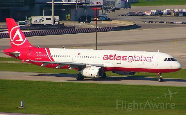 Airbus A321 (TC-ETV)