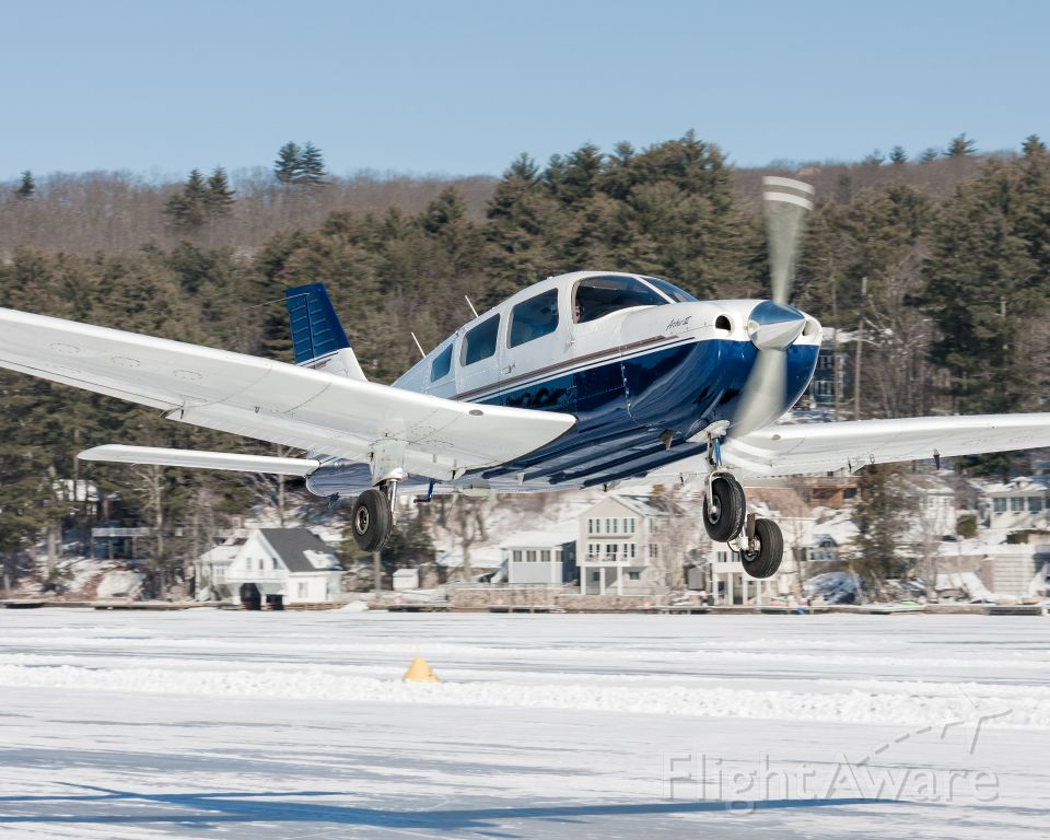 Piper Cherokee — - Alton Bay is believed to be the only charted ice airport in the 48 contiguous United States.