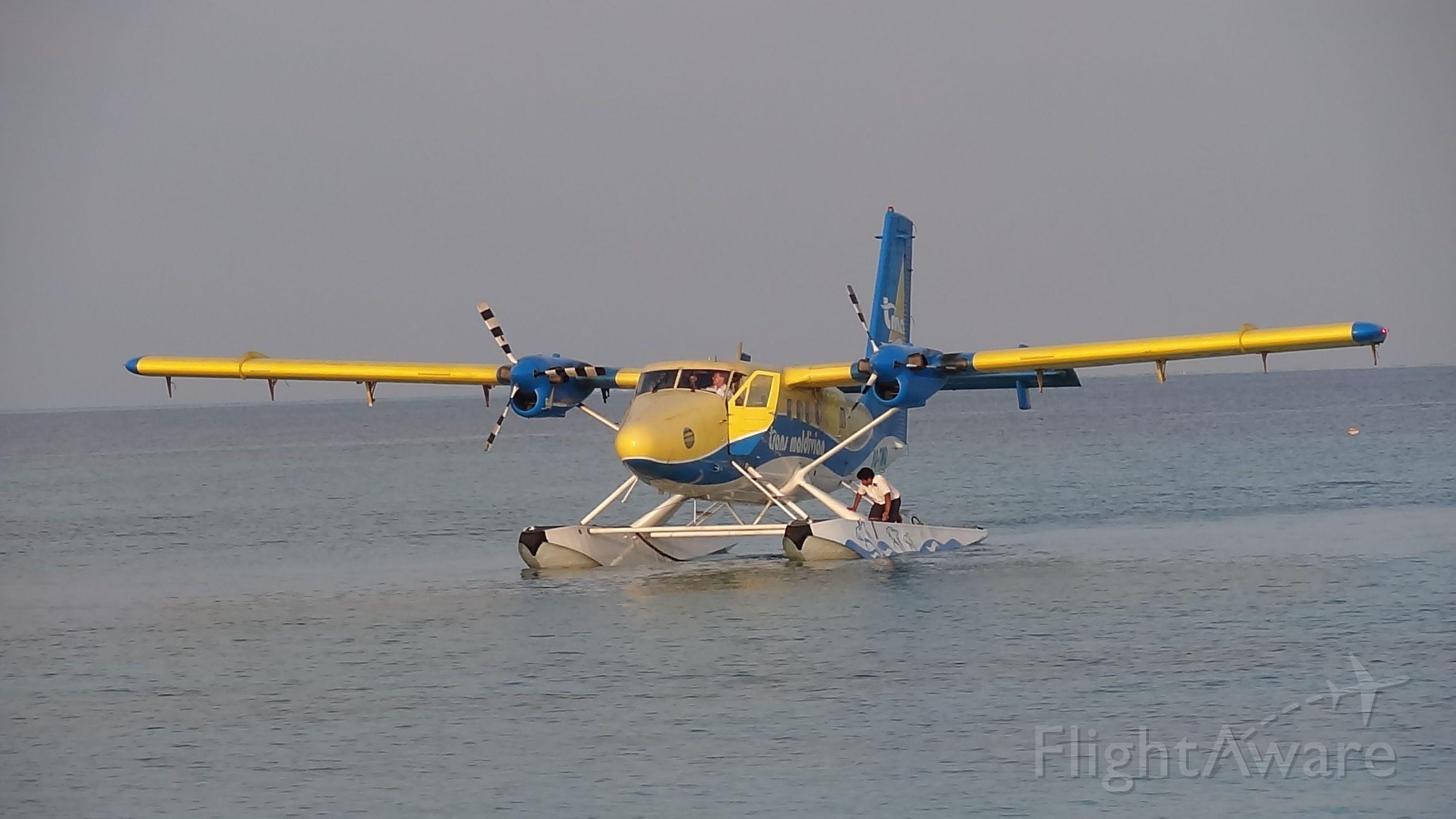 De Havilland Canada Twin Otter (8Q-TMI) - Trans Maldivian