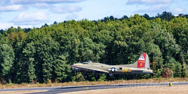 — — - Taken on Monday 09/30/19 of the Collings Foundation B 17 that Crashed at BDL this morning 10/2/19.