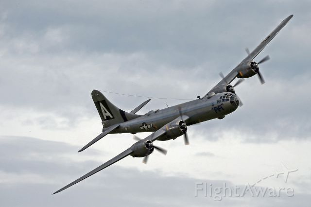 Boeing B-29 Superfortress — - Fifi B-29 turning and burning at this years Barksdale airshow.