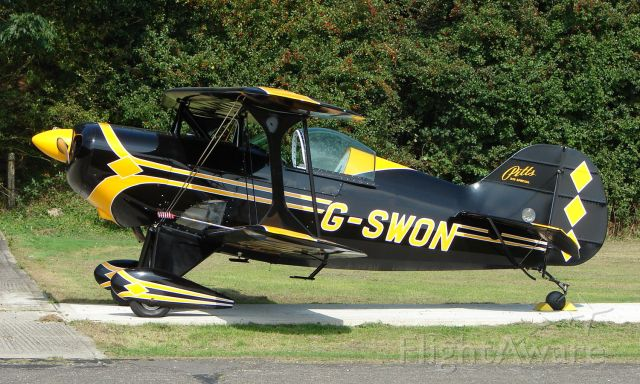 G-SWON — - Pitts S-1S at North Weald UK
