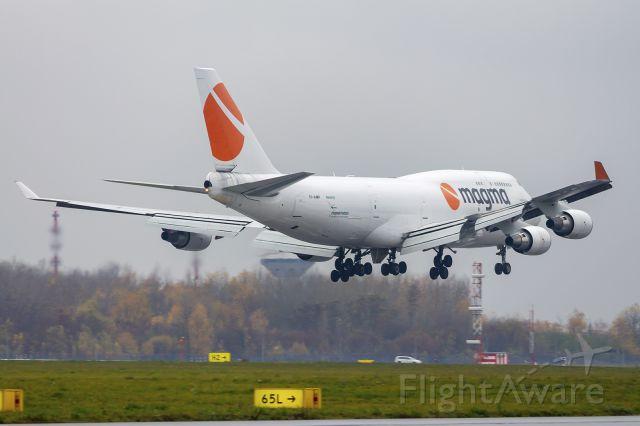Boeing 747-400 (TF-AMP) - Boeing 747-481 (BCF) TF-AMP Magma