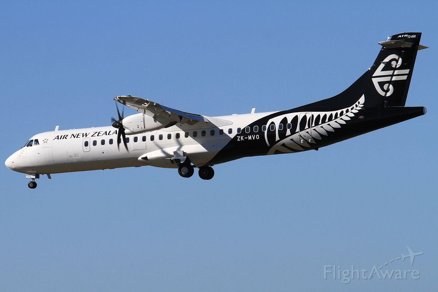 ATR ATR-72 (ZK-MVO)