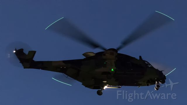 NHI NH-90 — - Australian Army, NH90, practise ILS approaches.