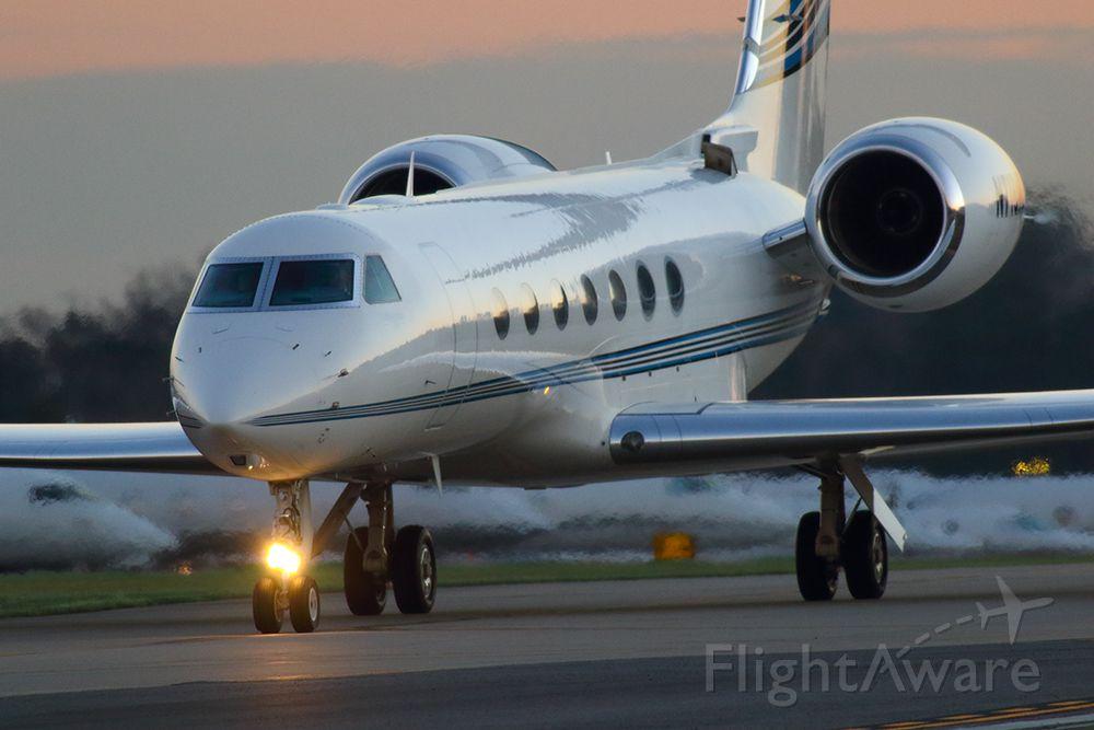 Gulfstream Aerospace Gulfstream V (N718MC) - Mark Cuban's Gulfstream GV arriving in Atlanta for the 2019 Super Bowl.