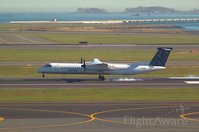 C-GKQB — - BOS Arrival