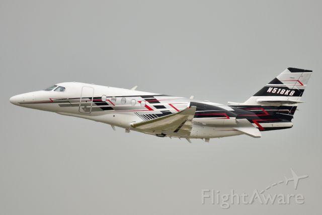 Cessna Citation Sovereign (N518KB) - Kyle Busch aircraft. 08-15-21. Depart Runway 14.
