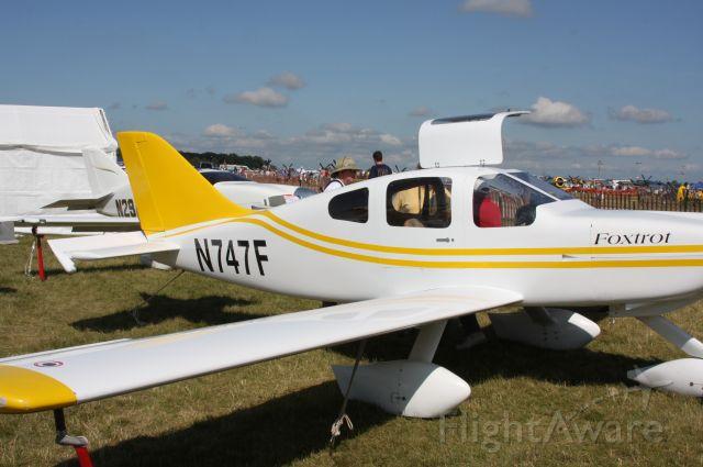 Experimental 100kts-200kts (N747F) - Oshkosh, WI