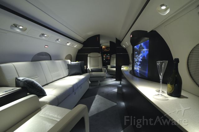 N378MB — - At the time of this photo <br />this screen was the largest in any Gulfstream...