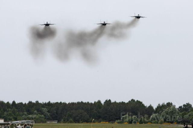 — — - Three Slovak MiG-29