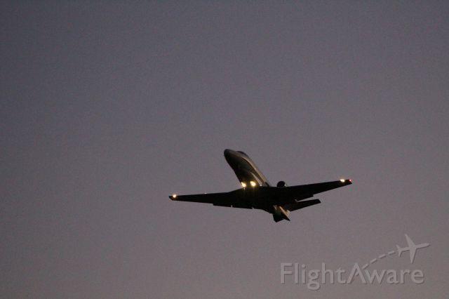 Cessna Citation Excel/XLS (N668QS) - EJA668 departing from Rwy 4 at KELD