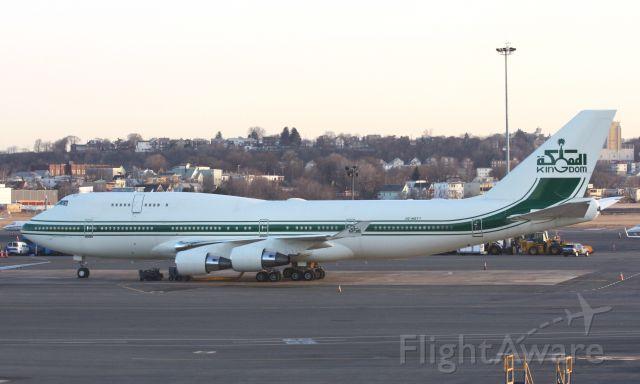 Boeing 747-400 (HZ-WBT7) - Kingdom Holding Company