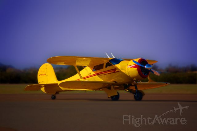 N79484 — - 1943 Beechcraft Staggerwing D17S P&W R-985