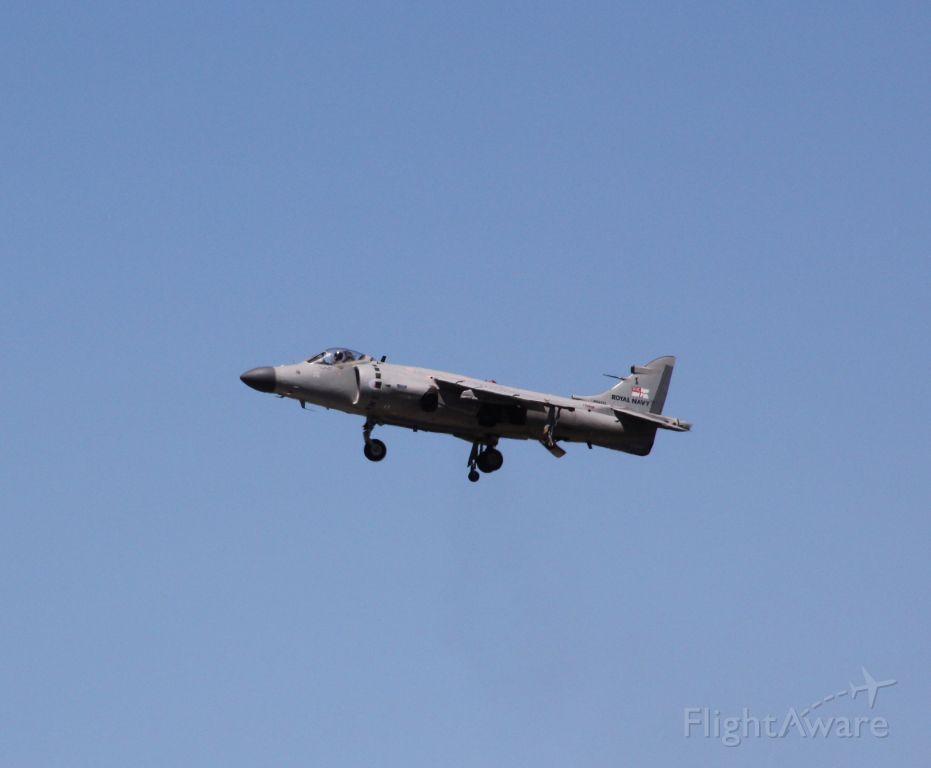 Cessna Skylane (N94422) - Art Nalls FA.2 Sea Harrier at 2017 Sunn Fun - KLAL