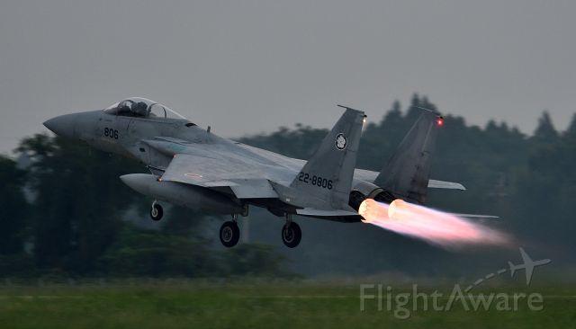 McDonnell Douglas F-15 Eagle (22-8806) - Nyutabaru Air Base JASDF(航空自衛隊 新田原基地 第5航空団)