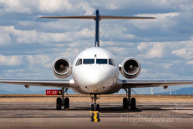 Fokker 70 (VH-QQX)