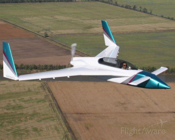 RUTAN Long-EZ (N818KD) - One of a kind, EZrg built by Steve Drybread.  Based on the Rutan Long-EZ