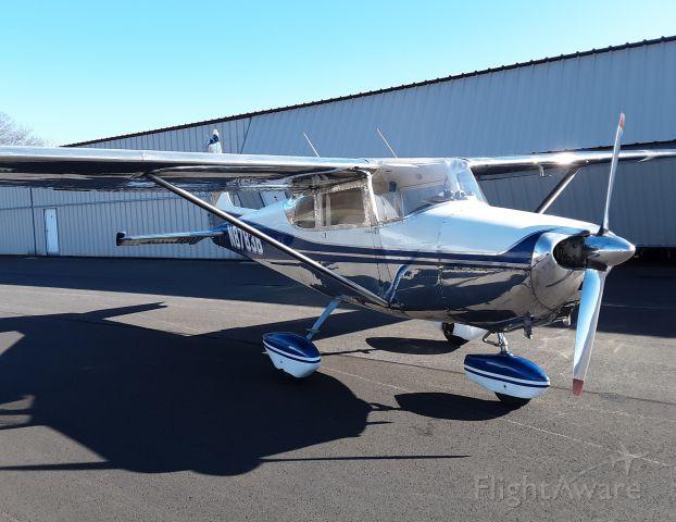 Cessna Skyhawk (N8783B) - 83B after complete restoration inside & out.