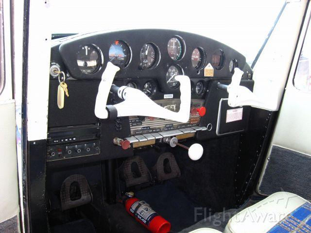 Cessna 140 (N2430N) - Inside cockpit