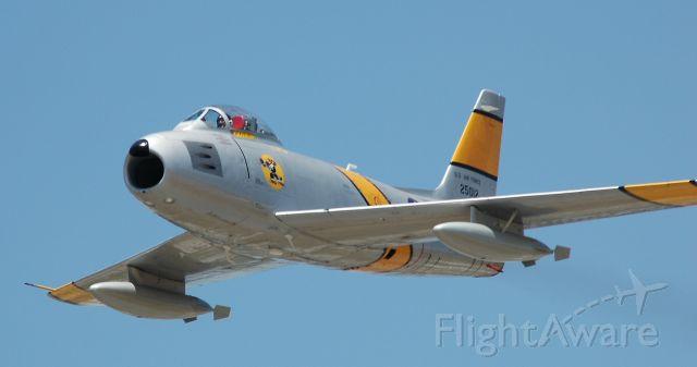 North American F-86 Sabre —