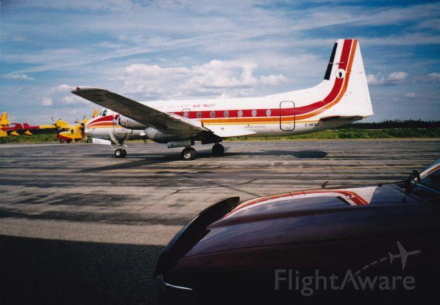 Hawker Siddeley HS-748 (C-GEGJ) - Air Inuit