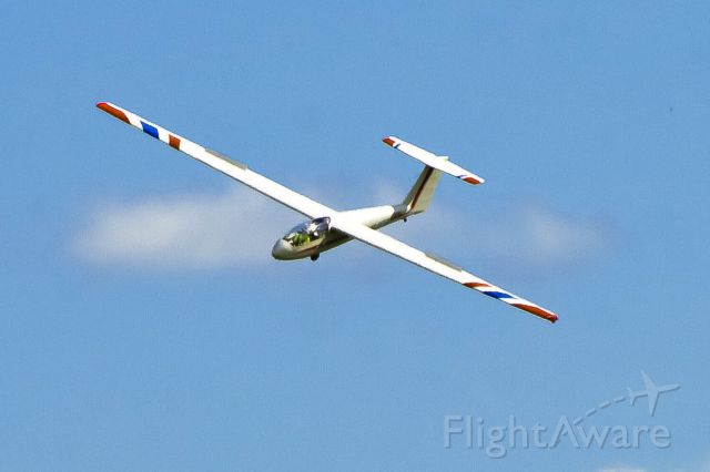 Unknown/Generic Glider (N342BA) - A Civil Air Patrol glider makes a lazy turn over LaGrange Callaway Airport during glider operations.