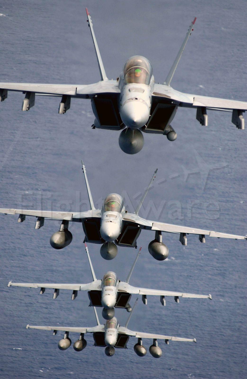 McDonnell Douglas FA-18 Hornet (USN) - U.S Navy F/A-18s