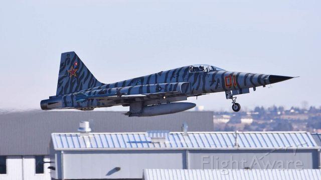 Northrop RF-5 Tigereye —