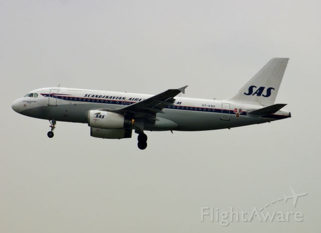 Airbus A319 (OY-KBO)