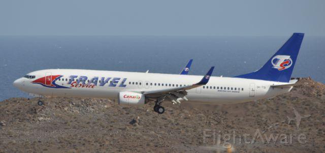 Boeing 737-800 (OK-TSI)