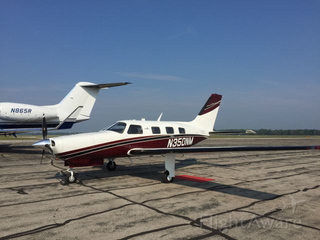 Piper Malibu Mirage (N350NM) - Kicking the tires for a demo flight.
