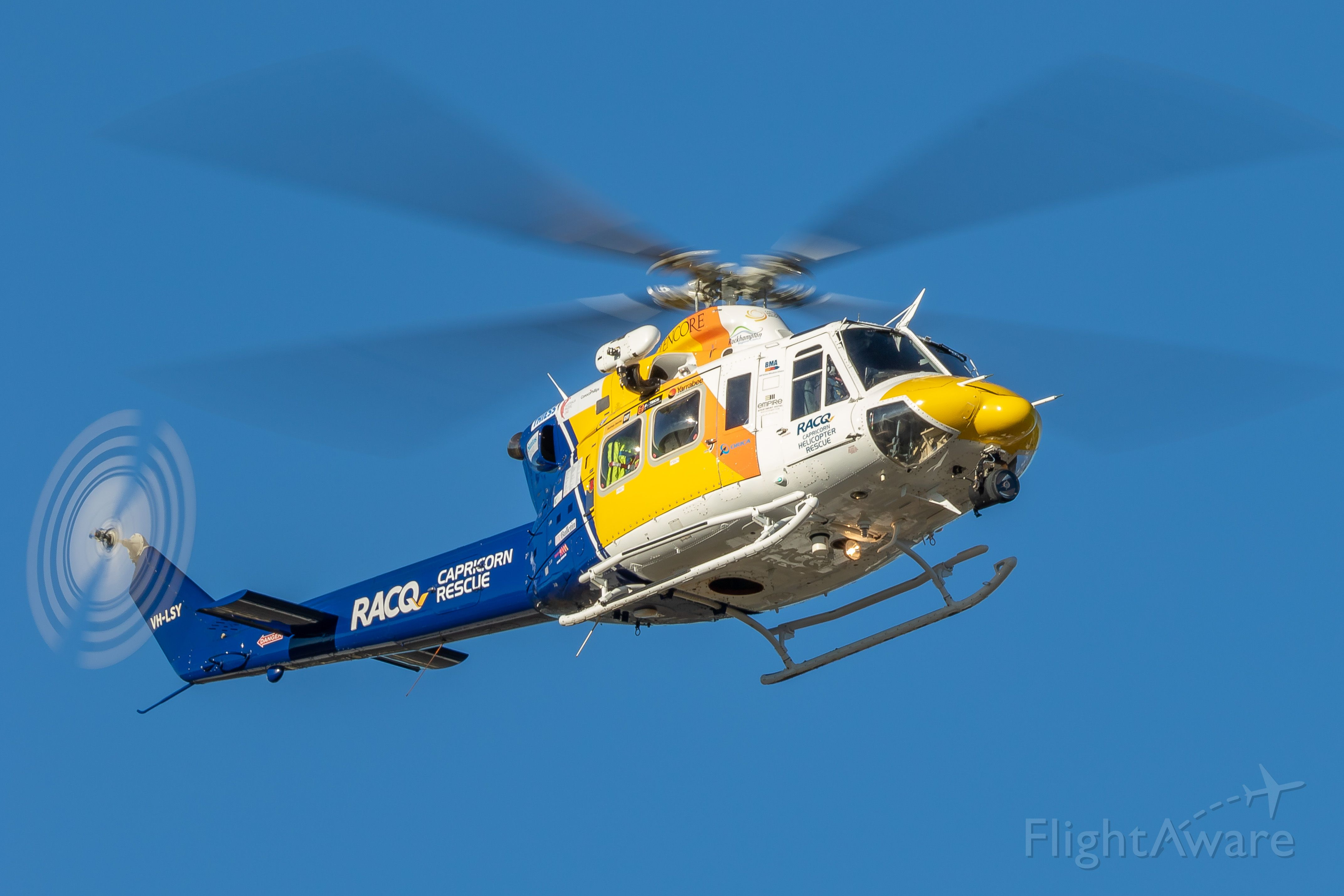 Bell 412 (VH-LSY)