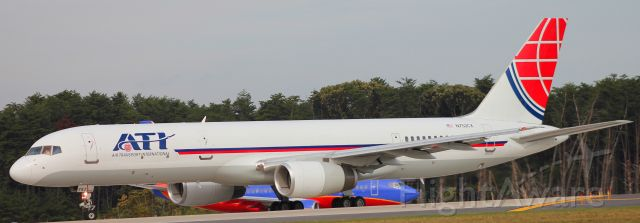 Boeing 757-200 (C752CX) - 10/9/15br /BWI to WRIbr /Flight 520