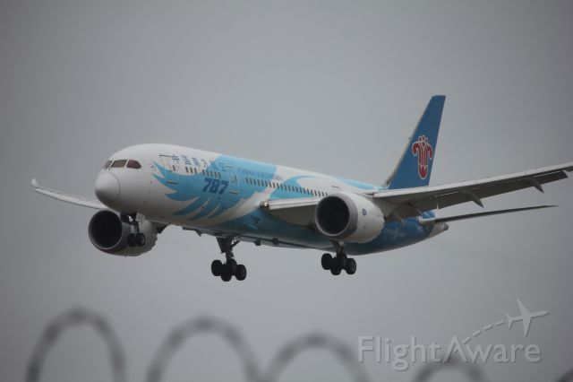 Boeing 787-8 (B-2726) - Spotting by 26R/08L. The CZ 788 back for the season.