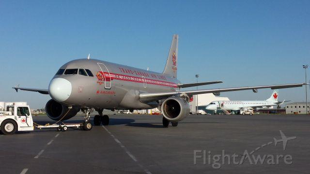 Airbus A319 (C-FZUH)