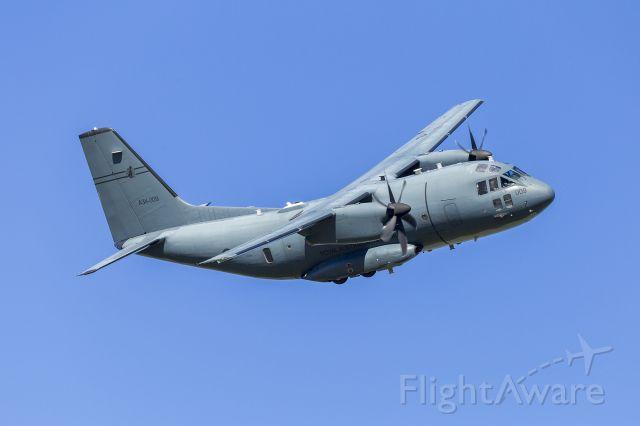 ALENIA Spartan (C-27J) (A34009) - Royal Australian Air Force (A34-009) Alenia C-27J Spartan low-level flyover at Wagga Wagga Airport