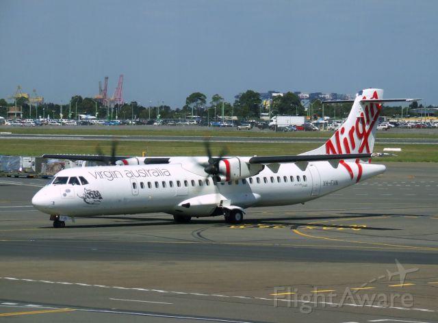 Aerospatiale ATR-72-600 (VH-FVN) - Virgin Australia ATR72-600 VH-FVN (cn 1039) at Sydney Airport. March 2015.