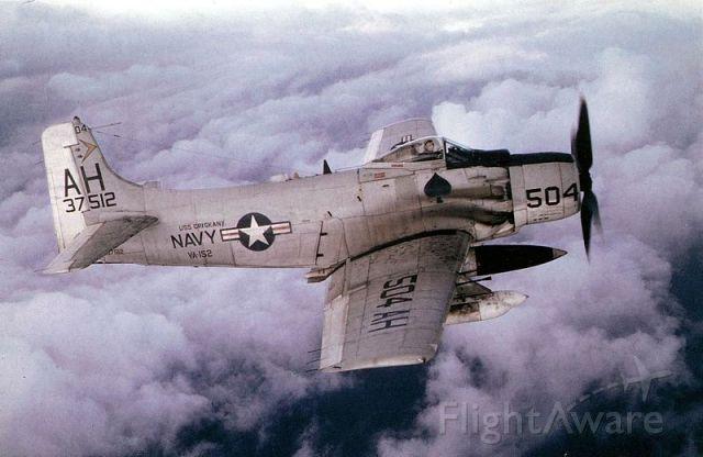 N37512 — - VA-152 - deployed aboard USS Oriskany (CV-34)  - Tonkin Gulf -1966-67