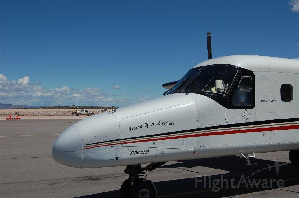 — — - Dornier plane taken at Grand Canyon after flight from Las Vegas