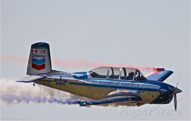 N134JC — - T-34, MENTOR, Julie Clark @ Alliance Fort Worth Air Show 2009