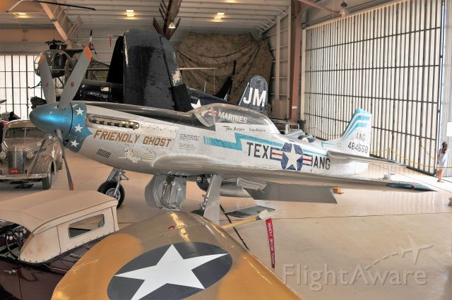 North American P-51 Mustang (48-4658) - War Eagles Museum. Great museum worth checking out. They have some unusual aircraft you don't see at other museums here. 06/30/21