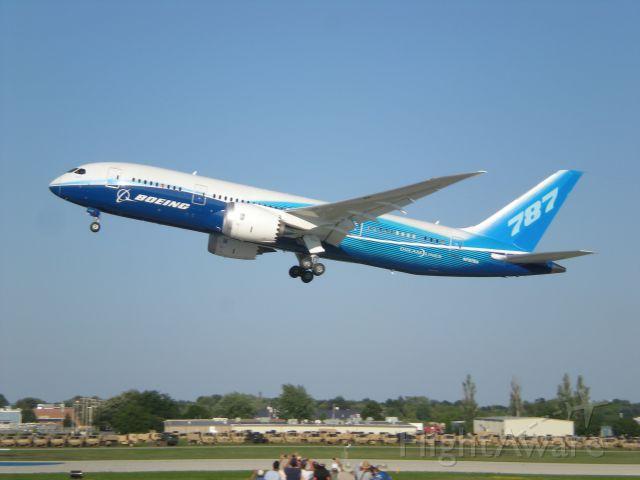 Boeing Dreamliner (Srs.8) (N787BA)