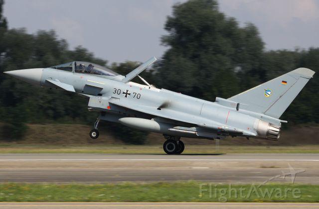 EUROFIGHTER Typhoon (GAF3070) - Spotterday 2013